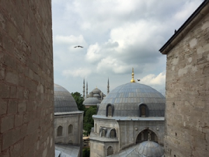 The Blue Mosque.