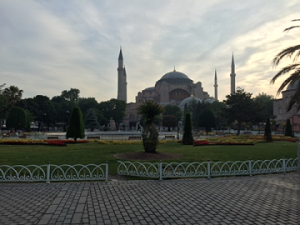 Hagia Sophia started as a church, became mosque, and is now a museum.