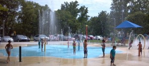 Lots of family fun at the splash park!